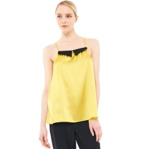 AMY CAMISOLE CHARTREUSE